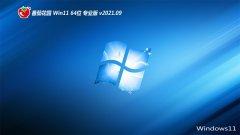 番茄花园Windows11 64位 纯净装机版 2021.09